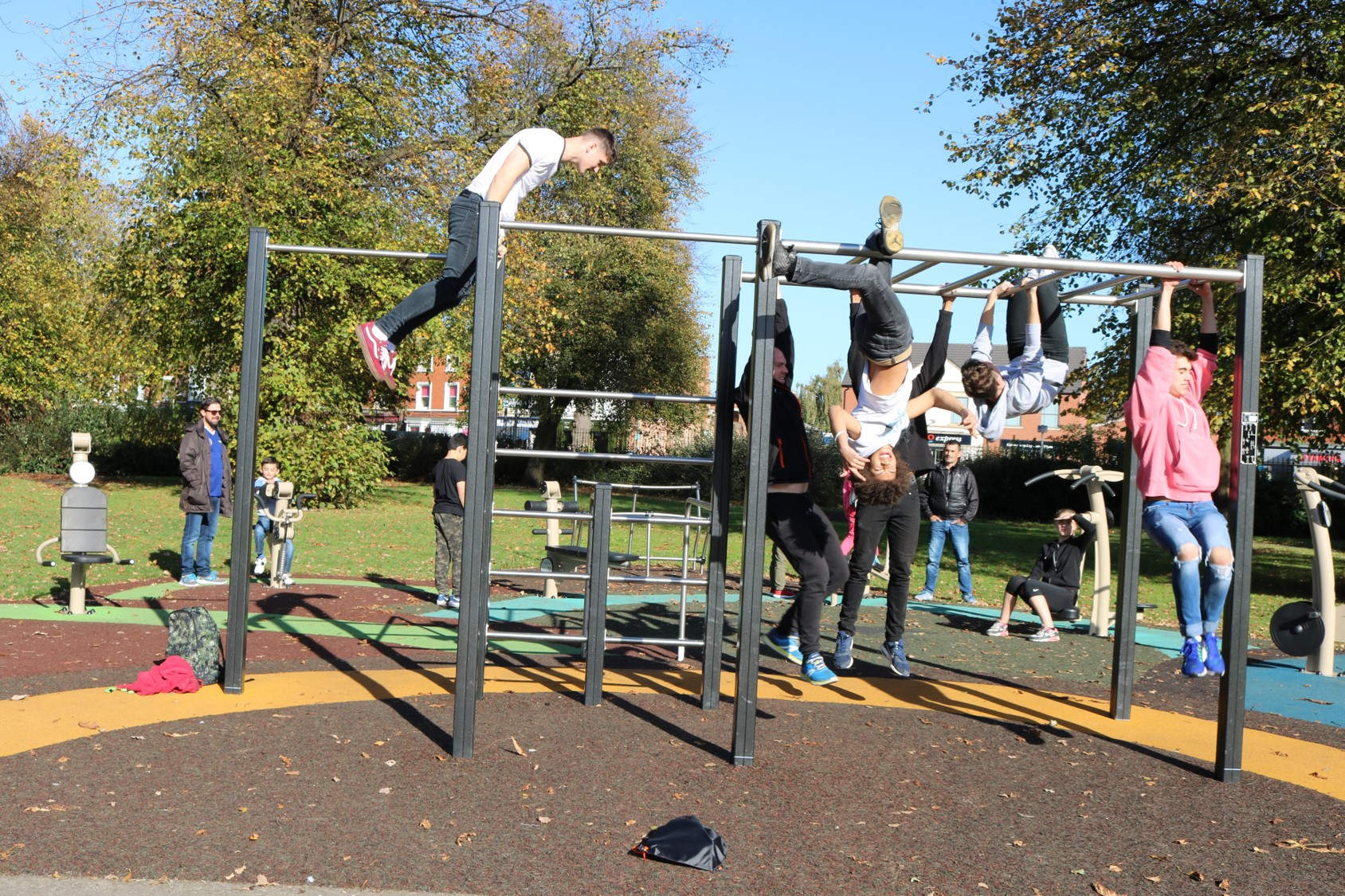 A New Proludic Outdoor Gym For Loughborough Takes