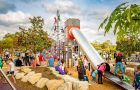 NSW - Birriwa Reserve Outdoor Youth Space, Mount Annan