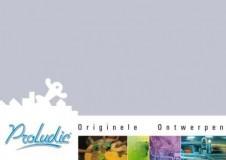 Voorpagina Brochure Proludic Originele Ontwerpen 2013-2014
