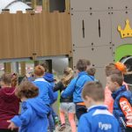 Kinderen en het Robin Hood kasteel