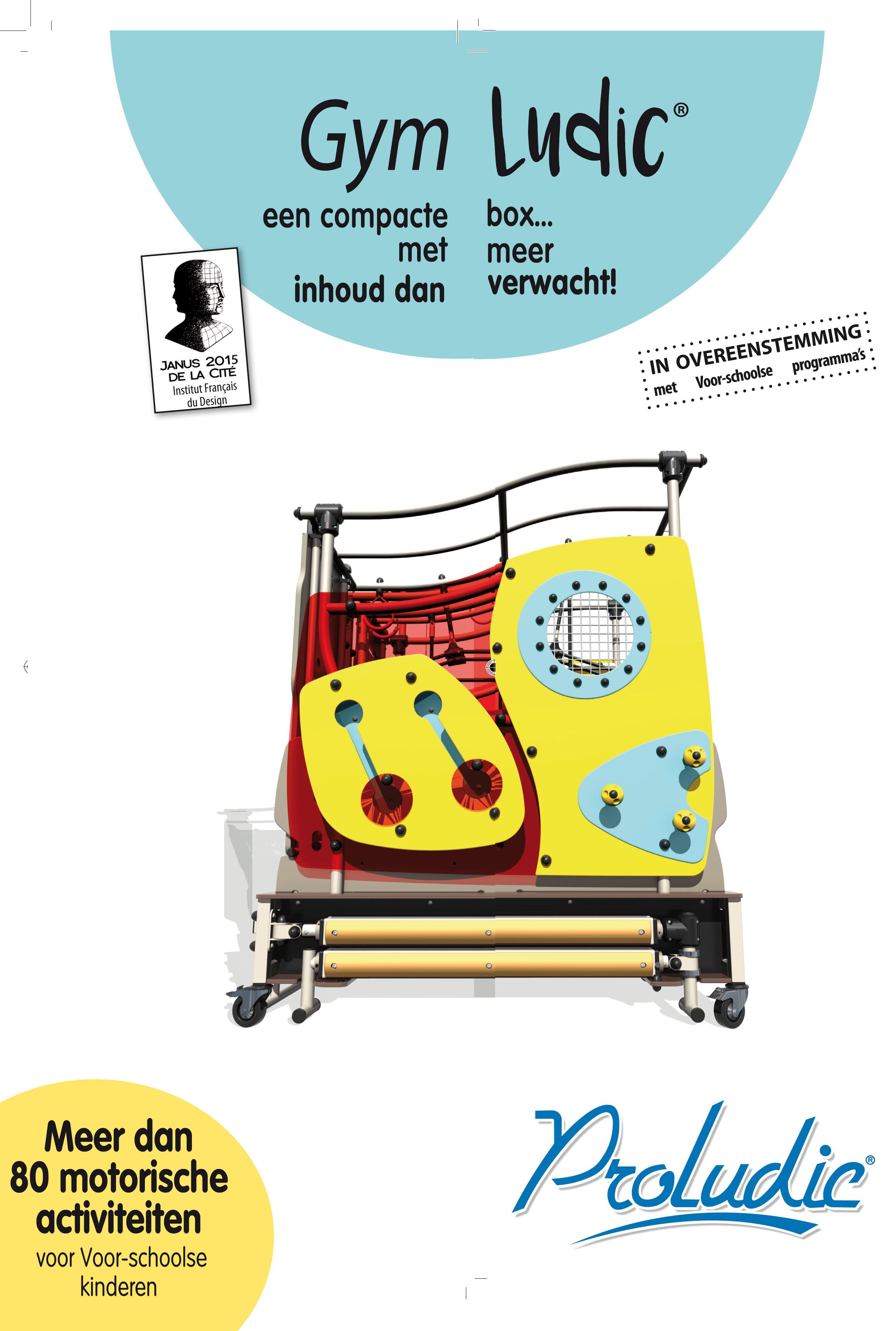 GymLudic flyer voorpagina