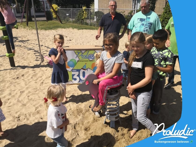 Kindervreugd in Uitgeest winnaar van veertoestel proludic