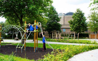 Groen schoolplein Cuneraschool
