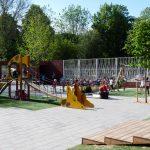speeltoestellen voor schoolpleinen