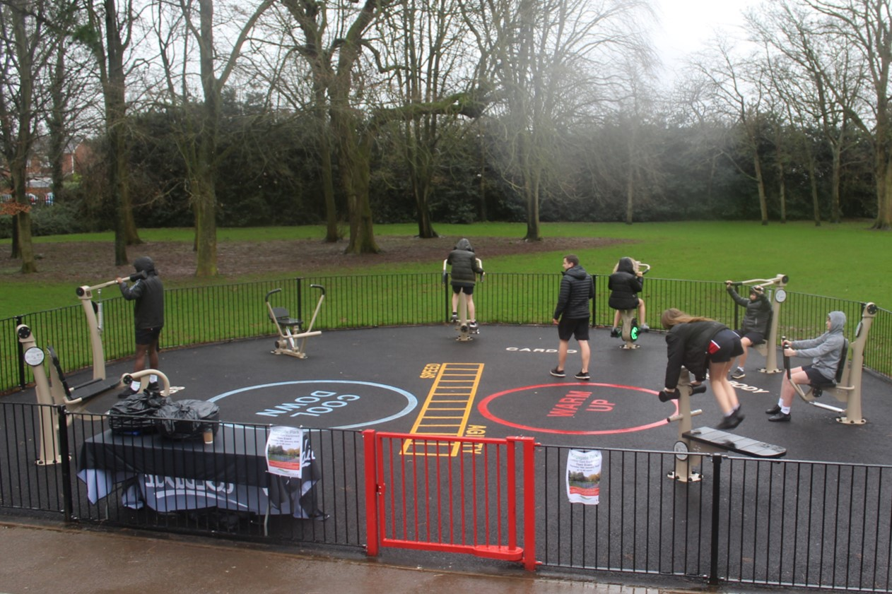 Kingsgate Park Outdoor Gym