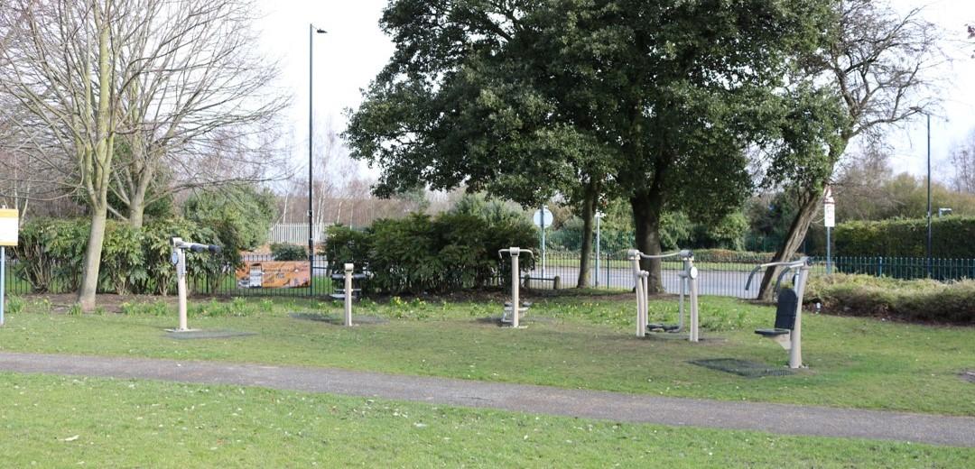 Memorial Park Outdoor Gym