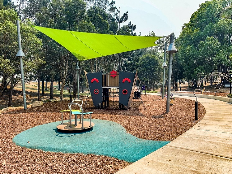 NSW - Alex Bell Park Inclusive Playground