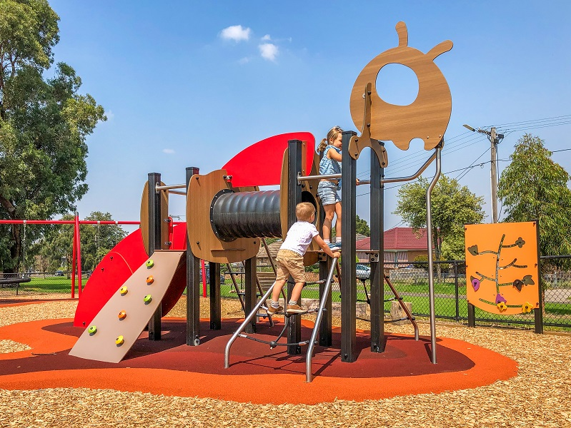 VIC - Evelyn Street (Clayton) Playspace