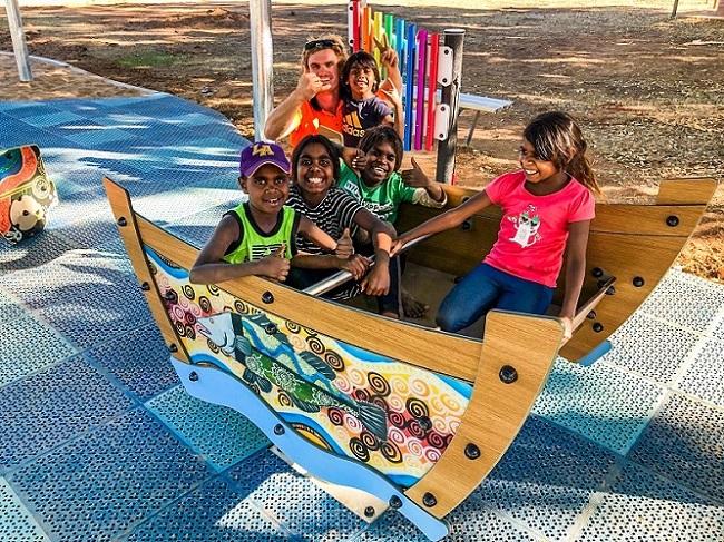 WA - Fitzroy Crossing Playground