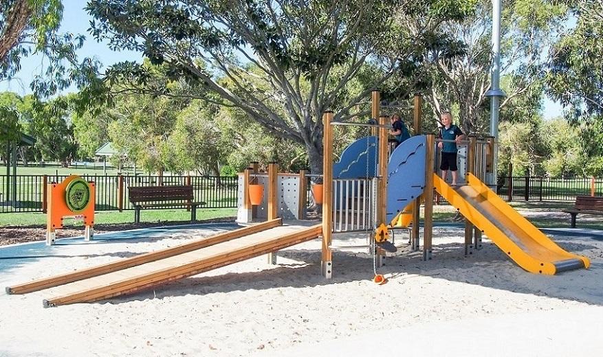 QLD - Grahame Stewart Park Inclusive Playground