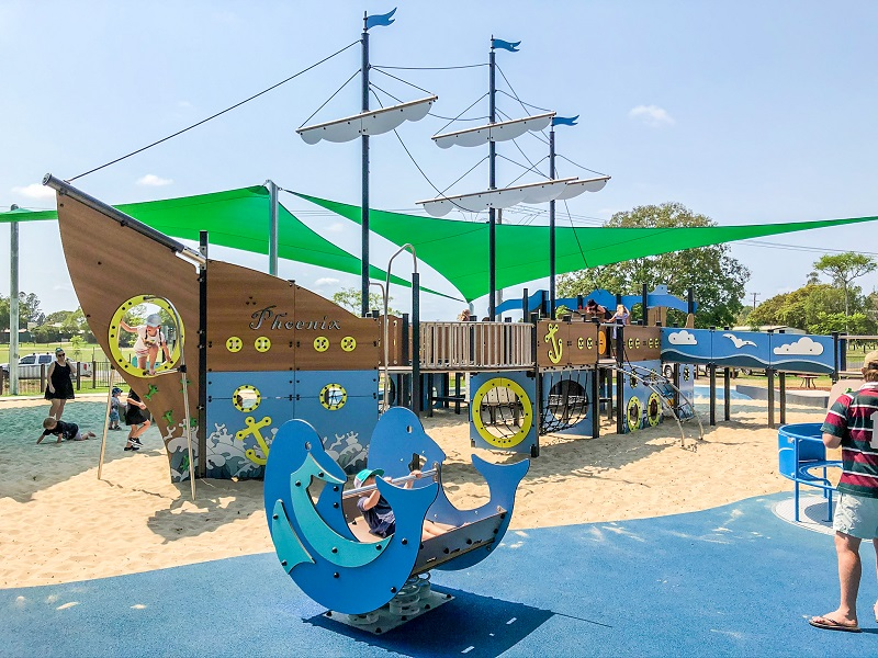 NSW - Jacaranda Park Inclusive Playspace