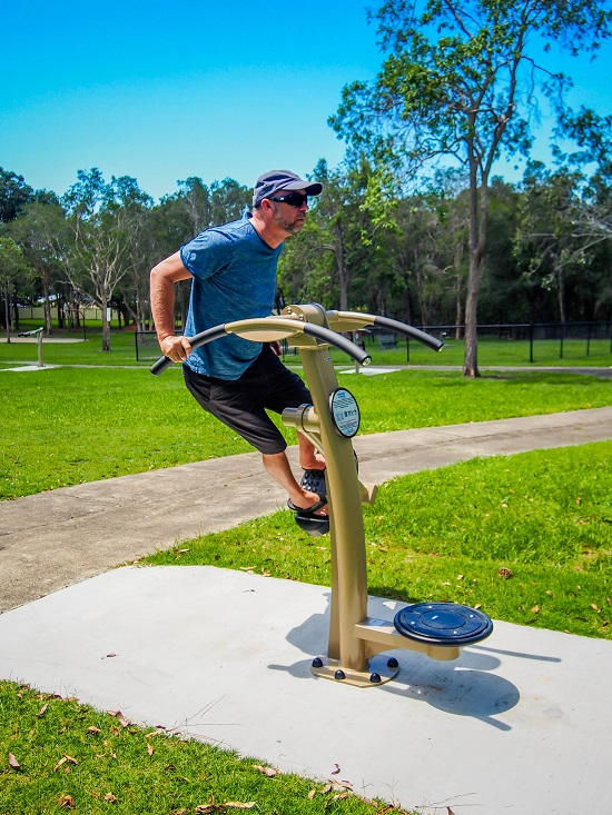 QLD - Jack Pyle Park Outdoor Fitness, Brisbane