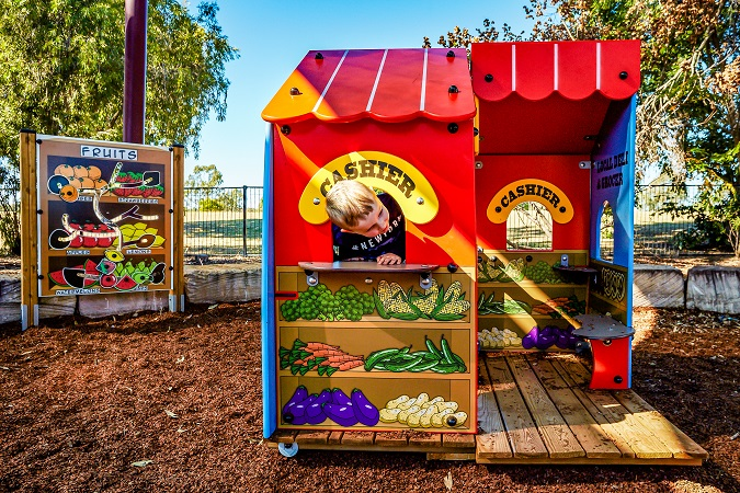QLD - Leichhardt Park Fruit-themed Playground