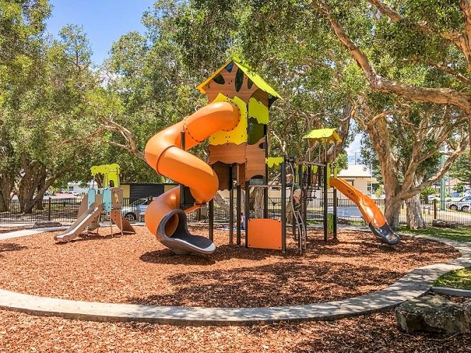 NSW - Lions Park at Yamba Adventure Playground