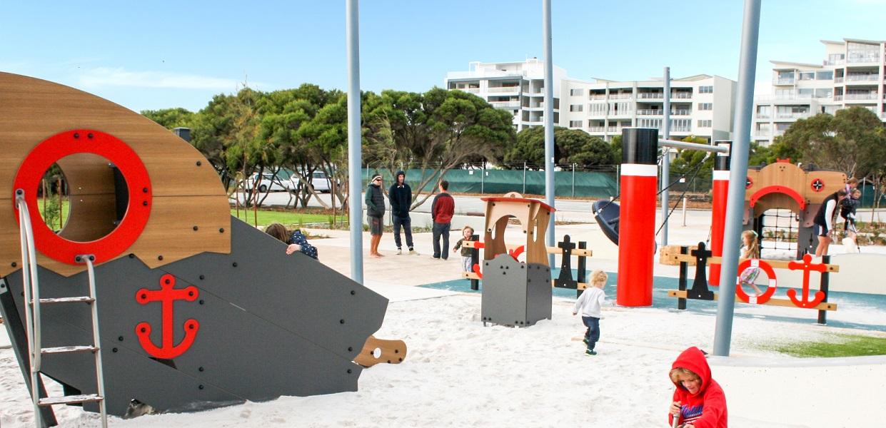 WA - North Coogee Bespoke Playground