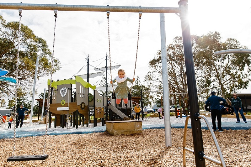 WA - Sykes Foreshore Playspace