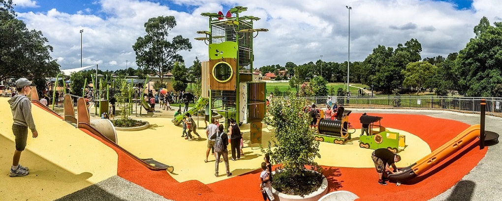 NSW - Ollie Webb Reserve Inclusive Playground