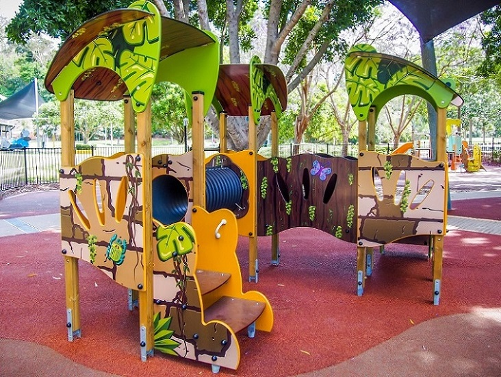 QLD - Rocks Riverside Park Junior Playground