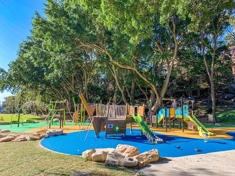NSW - Parsley Bay Reserve Inclusive Playground