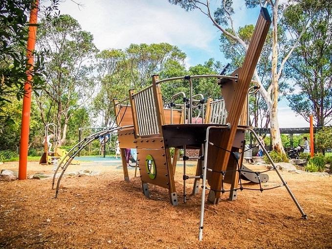 NSW - Passmore Reserve Playground