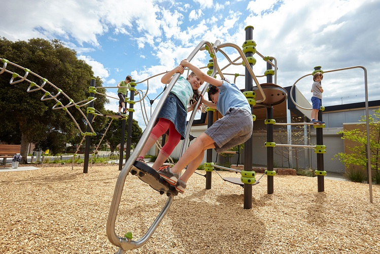 VIC - Ruthven Reserve Play Space