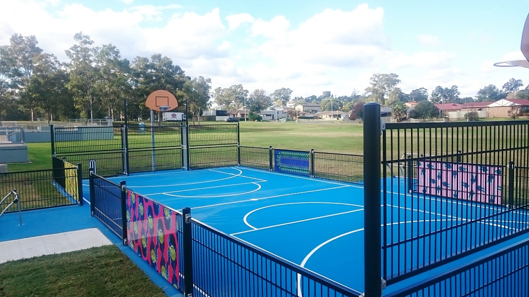 NSW - Sherringham Reserve Outdoor Multi Use Games Area