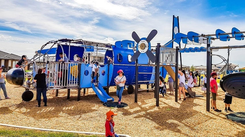 VIC - Aeroplane Park, Tarneit - Inclusive and Accessible Cargo Plane