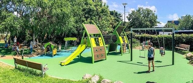 NSW - Mona Vale Village Park Playground
