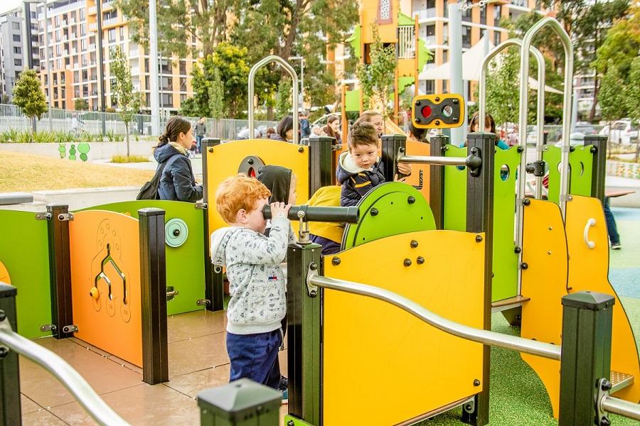 NSW - Waitara Park Inclusive Playspace