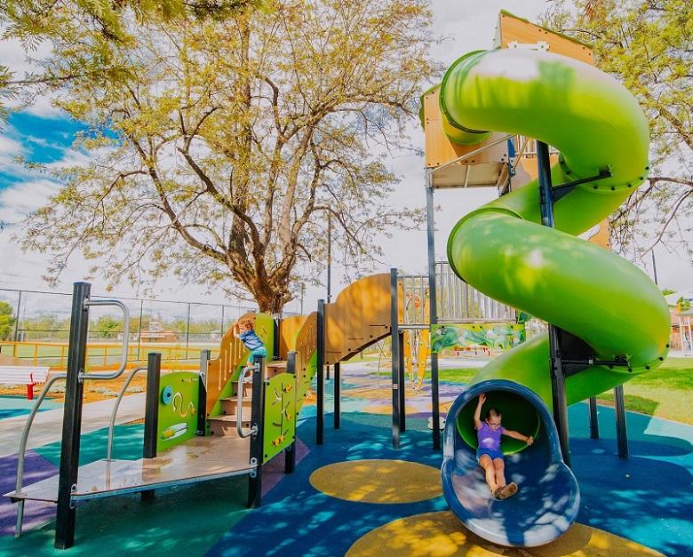 NSW - Livvi's Place Inclusive Playground, Wolseley Park
